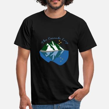 Cascade The Cascade Loop - Men's T-Shirt
