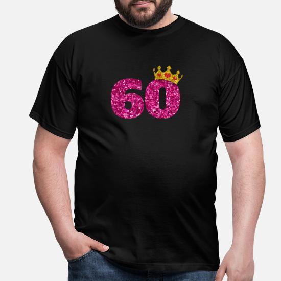COURONNE 1960 homme drôle 60th Anniversaire T-shirt 60 ans cadeau