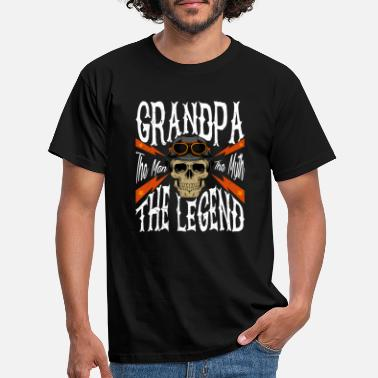 Molonas Grandpa The Man The Myth The Legend Tshirt Gift f - Camiseta hombre