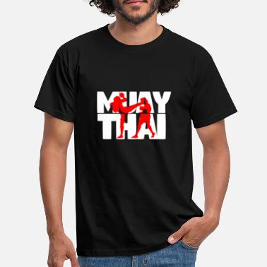 Muay Thai MUAY THAI - SHIRT DESIGN - MMA / KICKBOXING - T-skjorte for menn