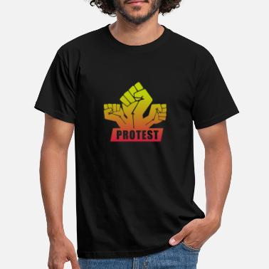 Protesten Protest shirt - Mannen T-shirt
