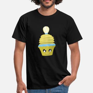 Emoticon cupcake idée - T-shirt Homme