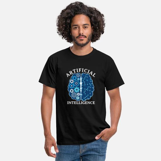 Intelligence T-shirts - Intelligence artificielle - T-shirt Homme noir
