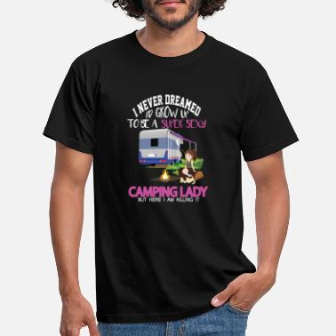 Camping Outdoor Adventure Holiday Enthusiasts - Men's T-Shirt