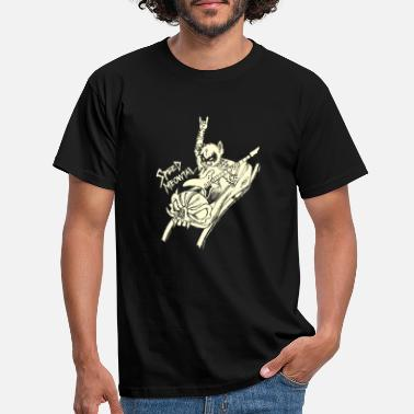 Speed Metal Guitarra Speed Metal Meowtal Cat Guitarist Band - Camiseta hombre