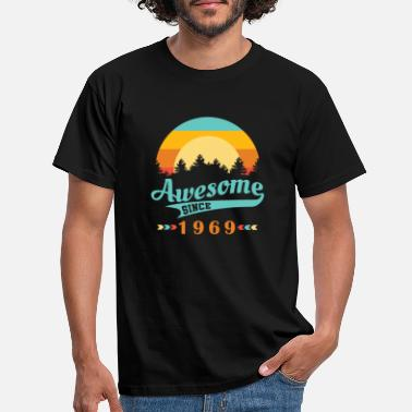 Awesome Awesome Since 1969 - Men's T-Shirt