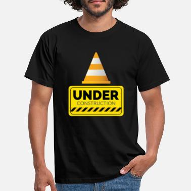 Under Armor Schild Under Construction - Männer T-Shirt