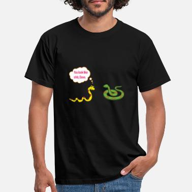 You look shit, Dave! funny snakes saying - Men's T-Shirt