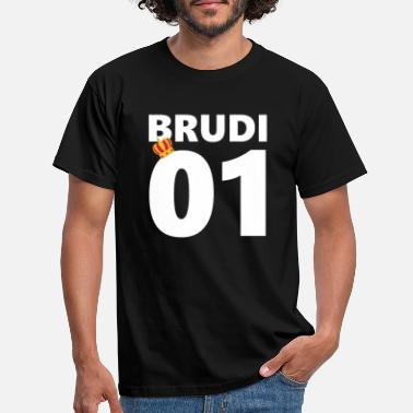 BRUDI brother Bratan's mate - Men's T-Shirt