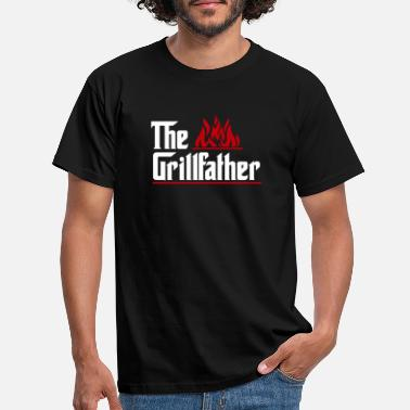 God The Grillfather - Men's T-Shirt