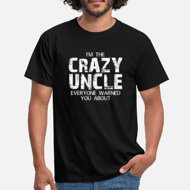 Crazy GULLE UNCLE - T-skjorte for menn