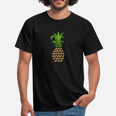 Beachparty T-shirt de fruits d'ananas tropical d'été | - T-shirt Homme