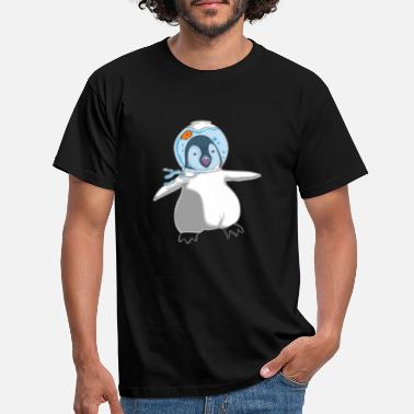 Pingouin Dunkle Design Space Goldfish - T-shirt Homme