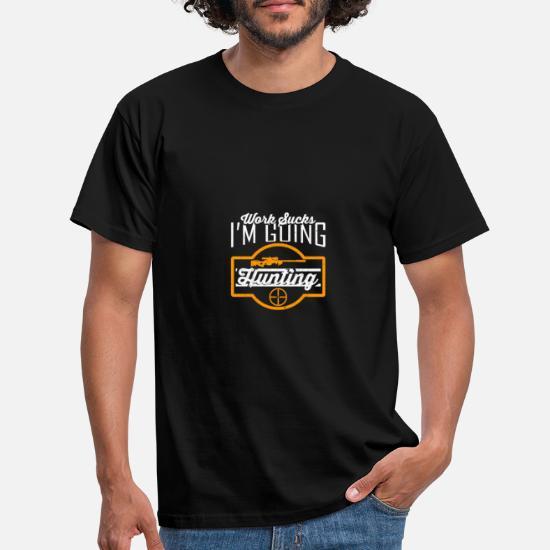 dfaf86e3308 Hunt hunter hunting dad rifle forest Men's T-Shirt | Spreadshirt