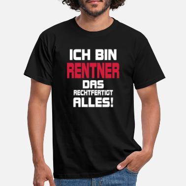 a0371116a7391 Rente Rentner Rente Pension Rentnerin - Männer T-Shirt