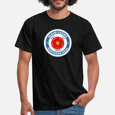 Casino Wigan Casino Lancashire Rose - Men's T-Shirt
