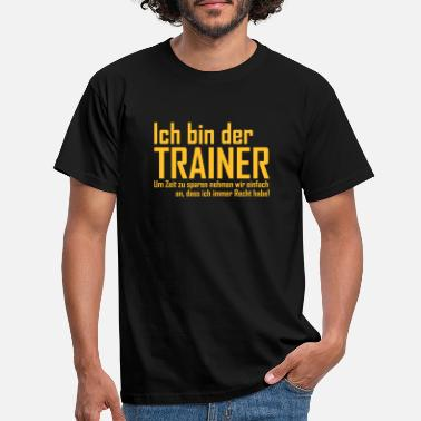 Baseball Trainer - Männer T-Shirt