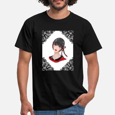 vintage girl - Men's T-Shirt