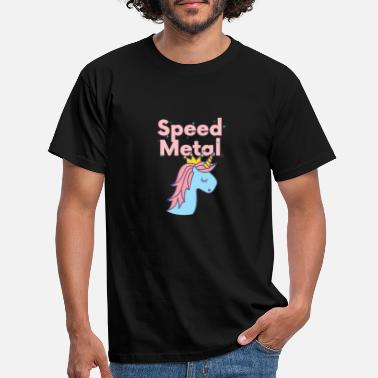 Speed Metal Licorne Speed Metal - cadeau - T-shirt Homme