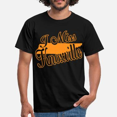 Knoxville ik mis Knoxville - Mannen T-shirt