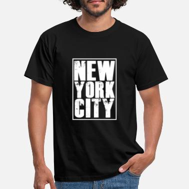 New York City - T-skjorte for menn