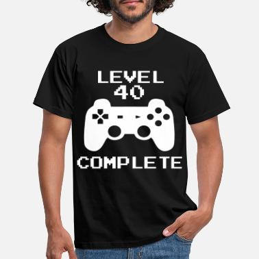 40th Birthday 40 Game - Men's T-Shirt