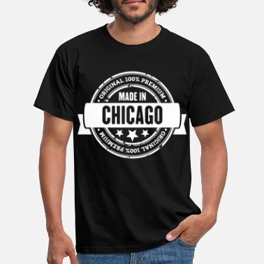 Chicago Bears Made in Chicago - Männer T-Shirt