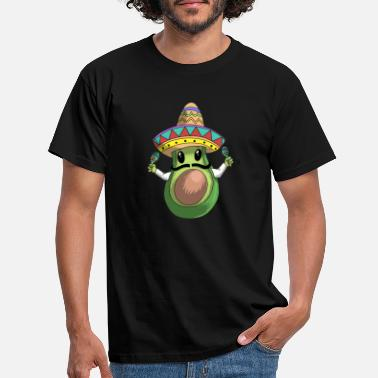 Mexican Mexican guacomole gift avocado t-shirt - Men's T-Shirt