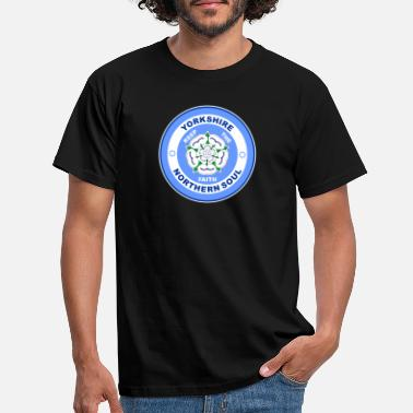 North Yorkshire Northern Soul Yorkshire Rose - Männer T-Shirt
