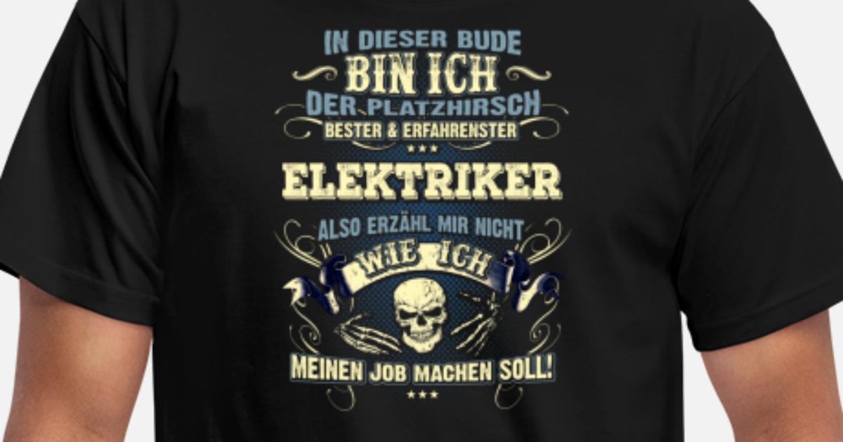 Edles Berufe-Shirt für den Elektriker Männer T-Shirt