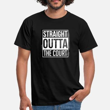 Basketball Straight Outta The Court - Basketball - Sports - Maglietta uomo