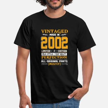 2002 Vintaged Made In 2002 Limited Editon - Mannen T-shirt