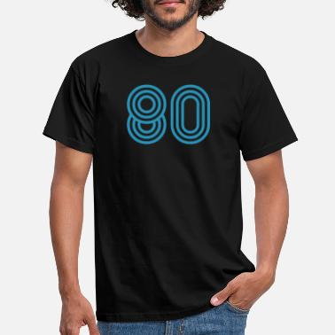 Eighty 80 eighty eighty - Men's T-Shirt