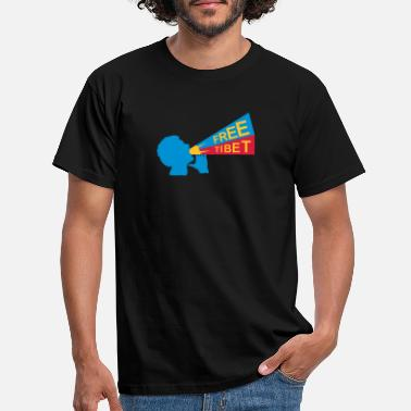 Independence free tibet - Men's T-Shirt