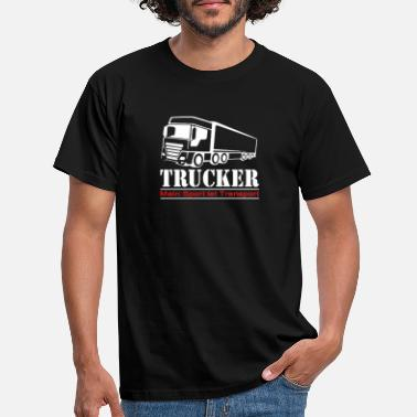 Transport Trucker - Mijn sport is transport - Mannen T-shirt