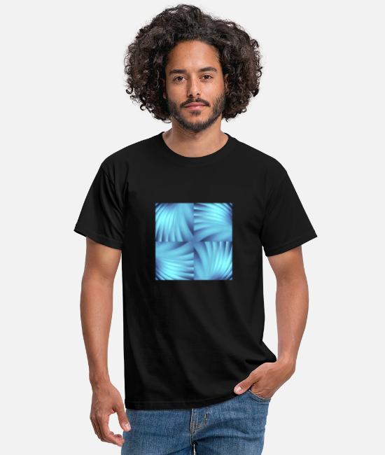 Abstract T-shirts - Ornament 067 - Mannen T-shirt zwart
