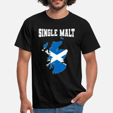 Single single malt - Männer T-Shirt