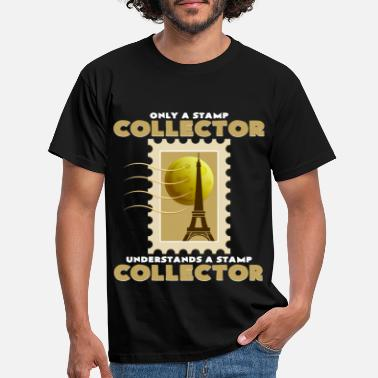 Stamp Collecting Stamp collection - Men's T-Shirt