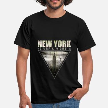 Skyline de new york - T-shirt Homme
