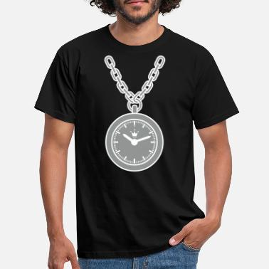 Clock clock chain - Men's T-Shirt