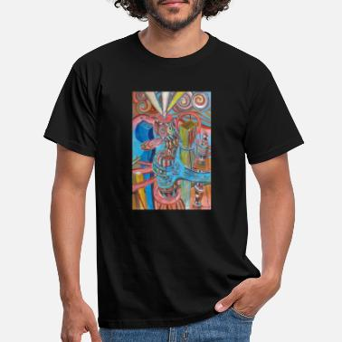 Cityscape fantastic tower 2 - Men's T-Shirt