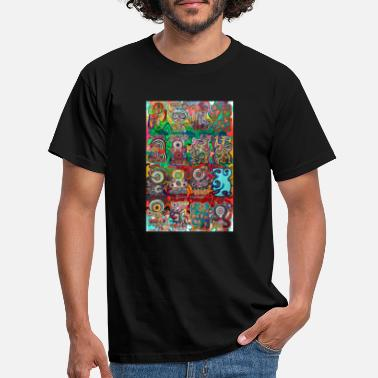 Art Pop-Graffiti 39 - Männer T-Shirt