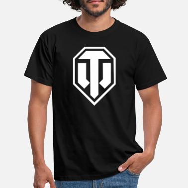 Wot16 World of Tanks - Logo - Männer T-Shirt