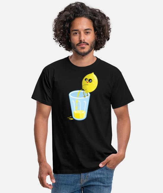 The Best Of Magliette - Lemon pees lemonade - Maglietta uomo nero