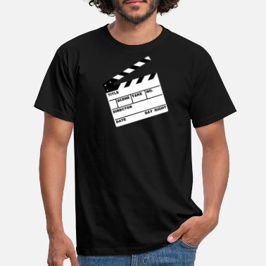 Cinema clapperboard (writable flex) - Men's T-Shirt