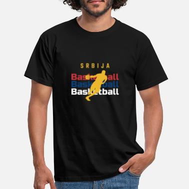 Servië basketbal - Mannen T-shirt