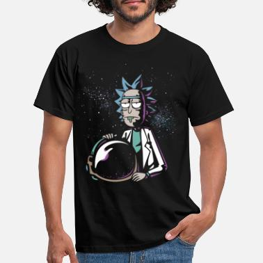 Rick Rick and Morty Rick mit Astronautenhelm - Männer T-Shirt