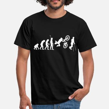 Fun Lustiges BMX MTB Evolution Freeride Fun Geschenk - Männer T-Shirt