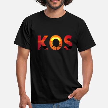Greece T-shirt Kos Greek island - Men's T-Shirt