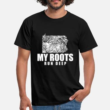 My Roots Run Deep Pennsylvania Gift Roots - T-shirt Homme